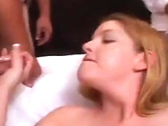 Charlee Chase and Young Slut Get Cum Facials!