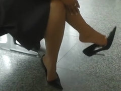 Janet Dangling at the Airport